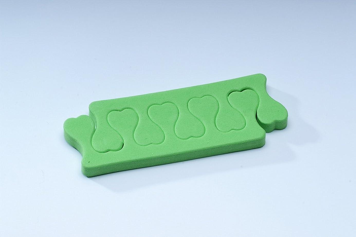 推進、動かす朝食を食べる発生するフィンガーセパレーター【緑】 gln03