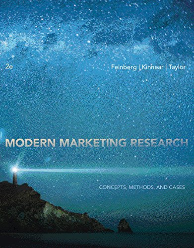 Modern Marketing Research: Concepts, Methods, and Cases (with Qualtrics Printed Access Card)