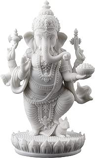 Standing Ganesh (Ganesha) Hindu Elephant God of Success Statue, 7 1/2-inch