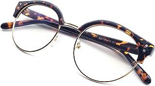 ANRRI Blue Light Blocking Glasses, Anti Eyestrain Anti Glare Lens, Computer Screen Protection Eyeglasses, Tortiose, Men/Women