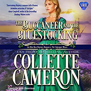 The Buccaneer and the Bluestocking audiobook cover art