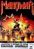 leonatica Konzertplakat Manowar Triumph of Steel Tour 1992