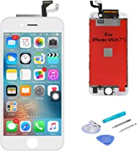 SANKA LCD Digitizer Screen Replacement Display Retina 3D Touch Screen Glass Frame Assembly for iPhone 6S, 4.7