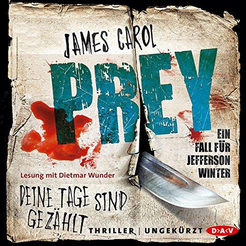 Prey: Deine Tage sind gezählt (Jefferson Winter 3) audiobook cover art