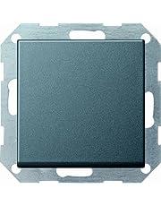 Gira 2015317 drukknopschakelaar 012728 kruisschakelaar systeem 55 antraciet, 250 V