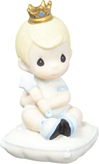 Precious Moments Lil' Prince Bisque Porcelain Figurine 163016