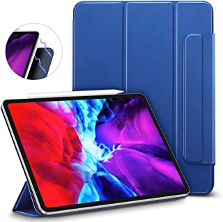 "ESR Rebound Magnetic Smart Case for iPad Pro 12.9"" 2020/2018, Convenient Magnetic Attachment [Supports Apple Pencil Pairin..."