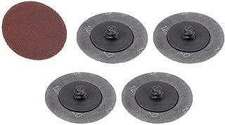 sourcing map 80mm 3po Dia filetage femelle M10 Tampon polir pon/çage Backer roue tampon 2Pcs