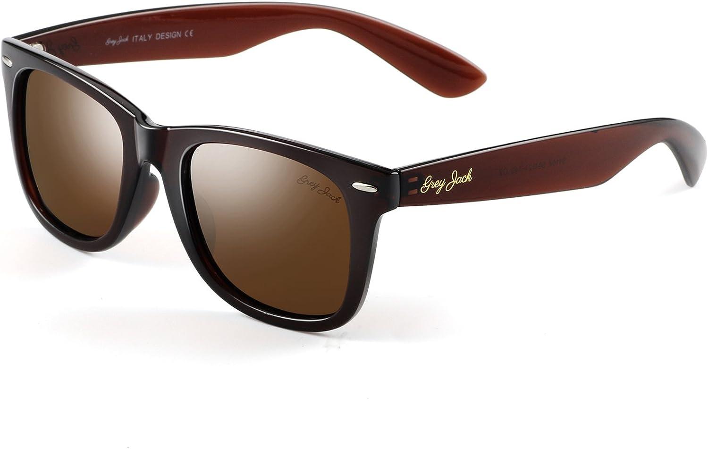 GREY JACK New York Mall Classic Polarized Horn Rimmed Men Max 50% OFF for Sunglasses Women