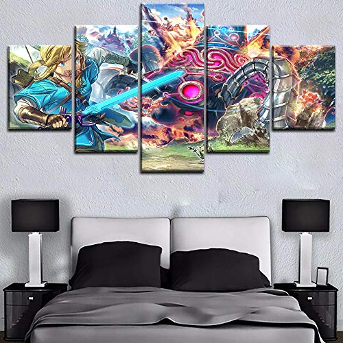 Mxsnow 5 Cuadro Lienzo Marco HD Canvas Prints Pictures