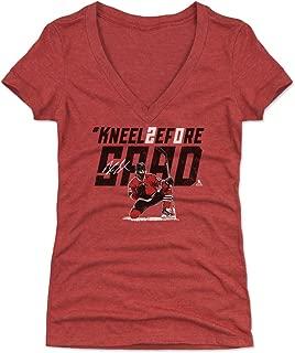 500 LEVEL Brandon Saad Women's Shirt - Chicago Hockey Shirt for Women - Brandon Saad Kneel Before Saad