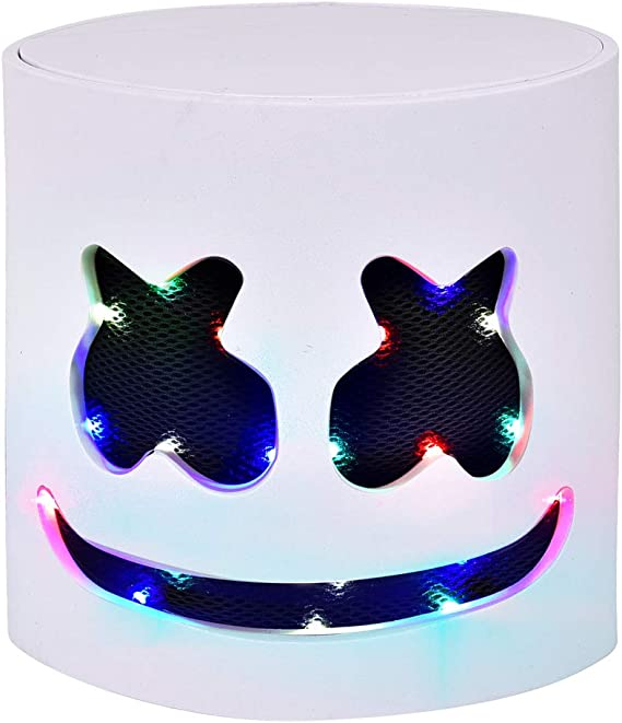 23. Full Head LED Fortnite DJ Mask - Dress Up and Parties