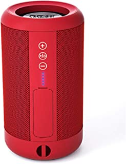 YANTING Bluetooth Wireless Speaker Portable Small Stereo Mobile Phone Computer WeChat Amplifier Outdoor Waterproof Audio (Color : Red)