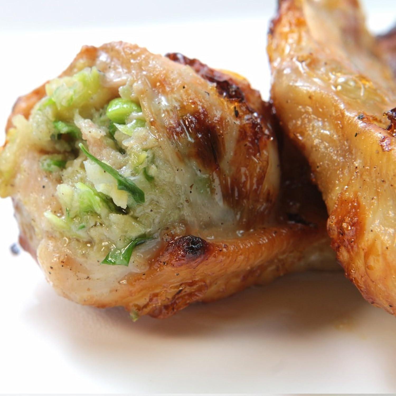 レンジでチンですぐに食べれる! 焼き手羽先餃子 手羽餃子 (5本入り×2袋) 鍋にもオススメ