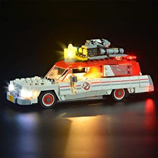 LIGHTAILING Light Set for (Ghostbusters Ecto-1 & 2) Building Blocks Model - Led Light kit Compatible with Lego 75828(NOT Included The Model)