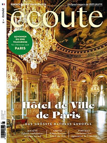 """Écoute - Französisch lernen 1/2020 \""""Hotel de Ville de Paris\"""""""