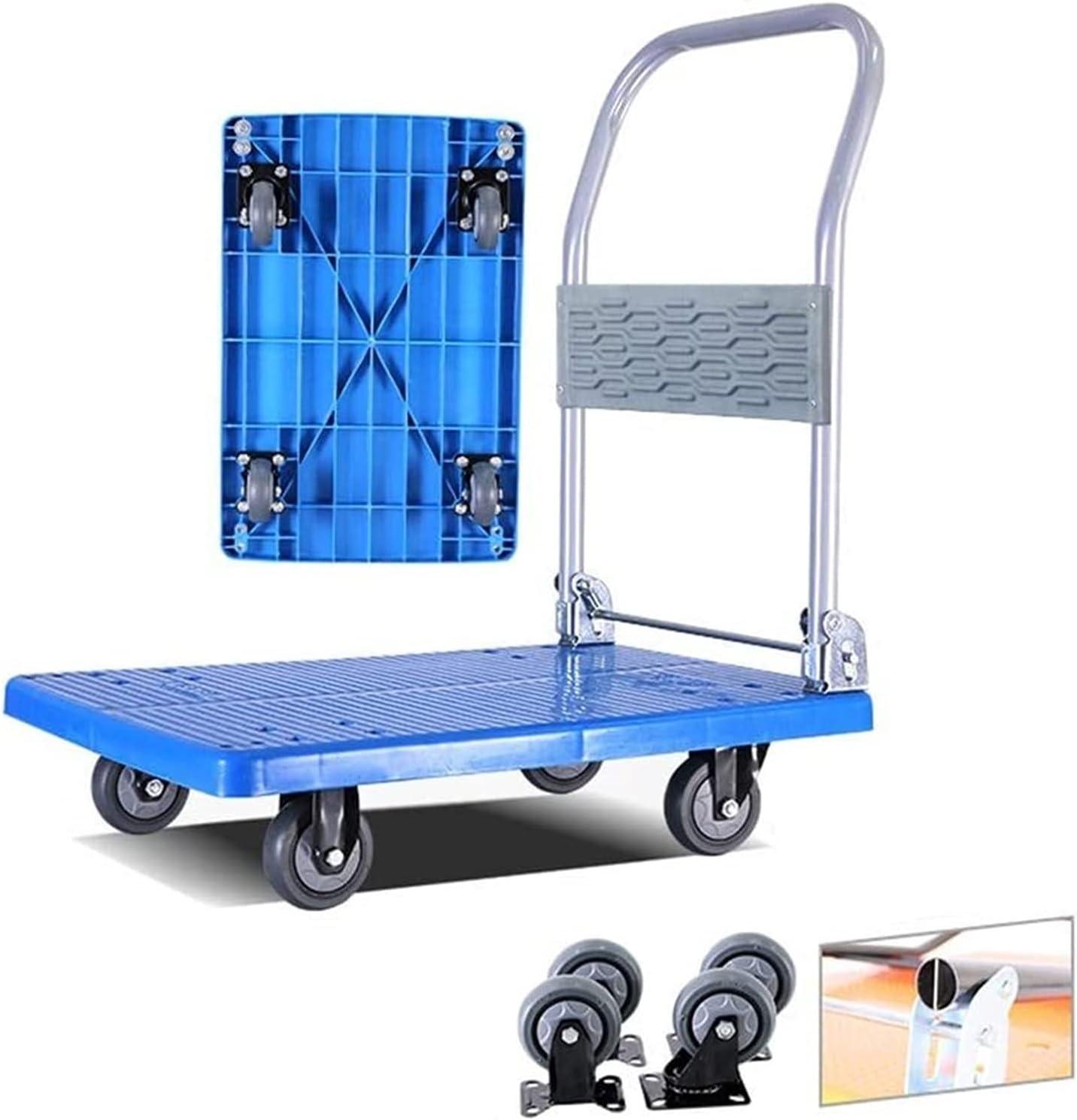 Shopping Ultra-Cheap Deals Popular brand in the world Trolleys Heavy Duty Truck Folding Platform Lightweight