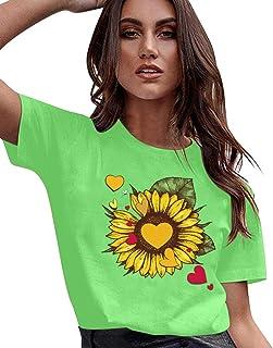 Yellow Sunflower Greenery Flower Plant Winter Earmuffs Ear Warmers Faux Fur Foldable Plush Outdoor Gift