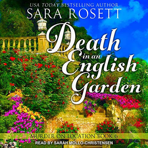 Death in an English Garden audiobook cover art