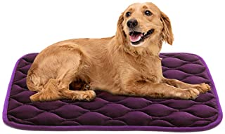 AIPERRO Dog Crate Pad Washable Dog Bed Mat Dog Mattress 30/36/42/46 Pets Kennel Pad for Large Medium Small Dogs and Cats …
