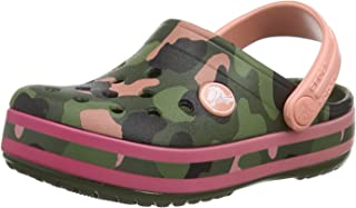 Crocs Unisex Çocuk Crocband Multigraphic Clog K Moda Ayakkabı