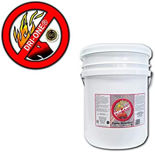 Fire Retardant Spray - Fire Retardant Fabric & Wood Class A, Non Toxic. Flame Retardant Spray Fabric, Wood, Plant Based Products - 5 Gallon Pail of DRI-ONE by Desert Research Institute, Inc.