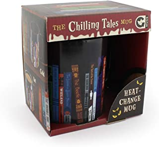Ginger Fox Chilling Tales Heat Changing Mug Featuring 25 Classic Horror Tales