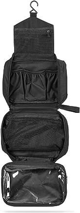 SWISSONA Neceser Premium, Impermeable y Colgante, Ideal para Viajar, Malla y Cierre de Cremallera   Bolsa de Aseo, Bolsa de Viaje, Estuche, Toiletry Bag