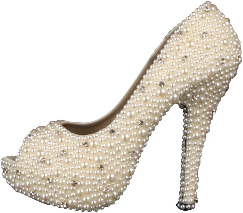 Miyoopark LL109 Women's Beading Bridal Bridesmaid Wedding Evening Sandals