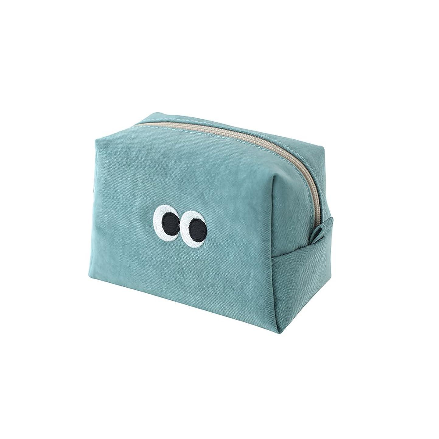 [LIVEWORK] SOM SOM Stitch Makeup Pouch ソムソムスティッチメイクアップポーチ 小物入れ コスメポーチ 便利 シンプル かわいい