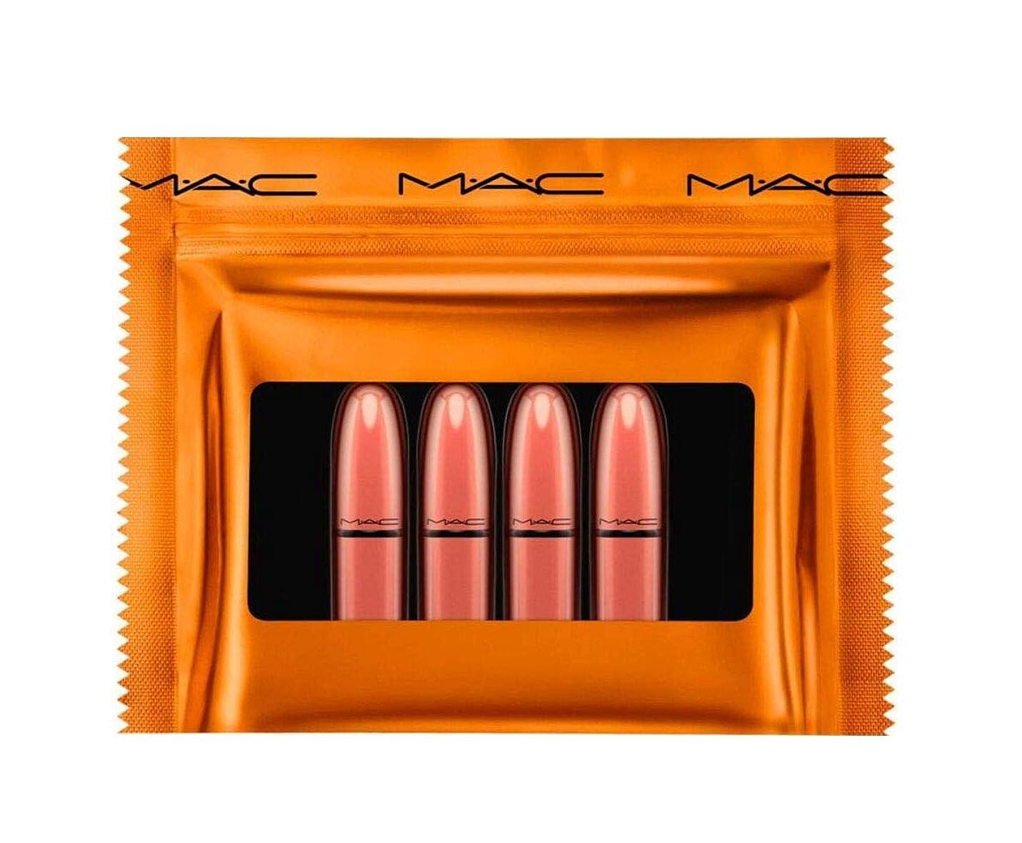 悲しむ仲間注ぎますMAC ミニリップスティック ギフトセット Shiny Pretty Things Party Favors Mini Lipstick Gift Set NUDES