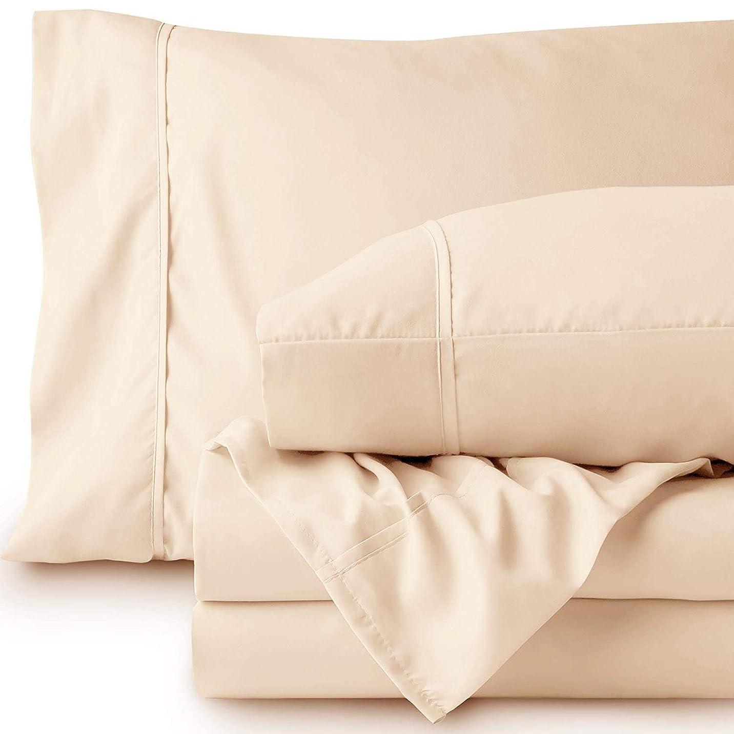 するだろうお互い派生するlinenwalas 800tcピュアコットンシート, Cushion and Pillow Covers, ベージュ