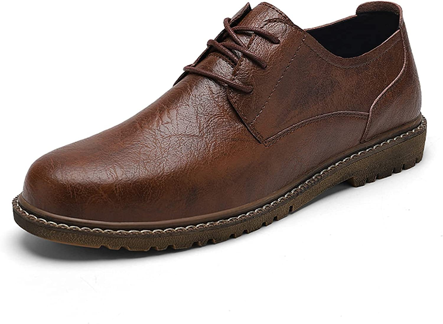 Men's Oxford Shoes Formal Casual Classic Leather Sneakers Business Fashion 2308