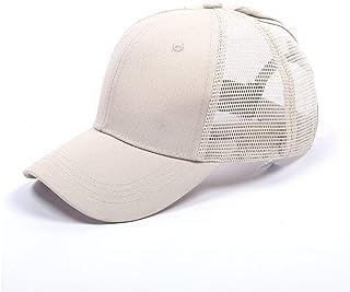 CheChury Gorra de Béisbol Casual Hats Hip-Hop Sombrero para Mujer Tenis Deporte Golf Verano Tejido de Transpirable Ajustab...