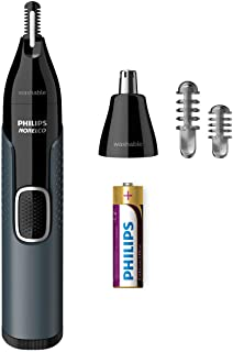 Philips Norelco Nosetrimmer 3000 For Nose, Ears and Eyebrows NT3600/42