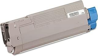 Okidata 43381904 C5500 C5650 C5800 Toner Cartridge (Black) in Retail Packaging