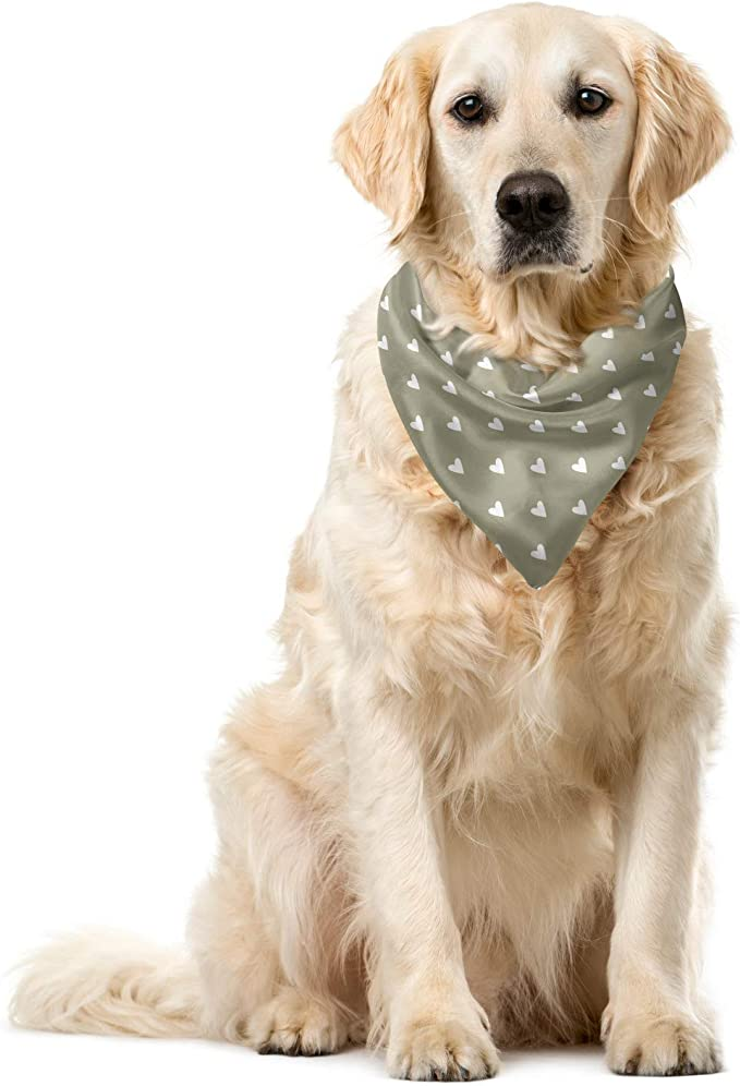 2 styles and 4 sizes available EXCLUSIVE Love XOXO Dog Bandana