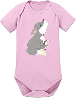 Shirtcity Howling Baby Wolf Baby Strampler by