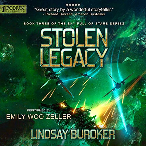 Stolen Legacy audiobook cover art