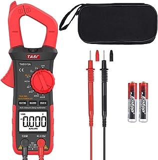 comprar comparacion LTPAG Pinza Amperímetro Voltímetro Ohmímetro, 3999 Cuentas Multímetro Digital Automático, True RMS Polimetro Profesional M...
