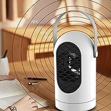Mini Ventilador Calentador,Mini Heater Estufa Eléctrica Portatil 400 W con Termostato, Mini Estufa Eléctrica Calefactor Portátil Instant Heater con Termostato Ajustable