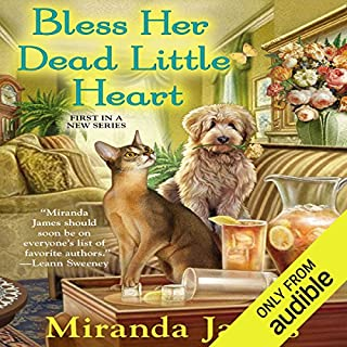 Bless Her Dead Little Heart                   By:                                                                                                                                 Miranda James                               Narrated by:                                                                                                                                 Jorjeana Marie                      Length: 7 hrs and 41 mins     11 ratings     Overall 4.7