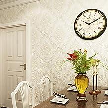 Yancen le salon murale _ Salon papier peint intissé 3d trois Dimensions en relief papier peint Chambre à coucher Salon en damas, The–3031