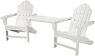 Hanover Rio 3-Piece All-Weather Chat Set in Sunset Red
