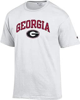 NCAA Men's T Shirt Arch Over White