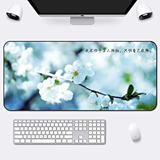 Thick 5 Mm-s 120x60cm 47x24inch 7/% Extended Mat Desk Pad Cloth Surface Long Not-Slip Desk Pad Protector Large Area for Keyboard and Mouse DM/&FC Large Gaming Mouse Pad