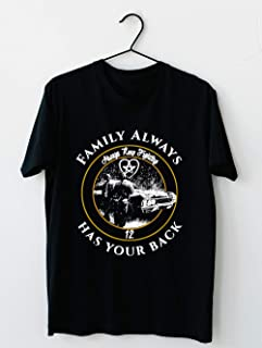 Supernatural Family Always Has Your Back - Always Keep Fighting T shirt Hoodie for Men Women Unisex