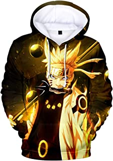 Novelty Hoodies Sweatshirt Outerwear with The Japanese Anime Naruto for Men Women