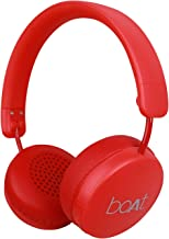 boAt Rockerz 440 Wireless Bluetooth Headset with in-Built Mic(Red)
