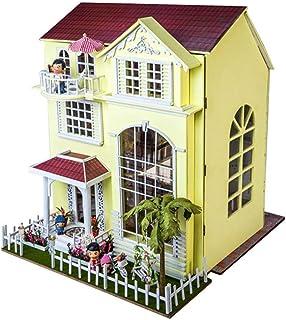 Diy Toy Cabin, Miniature Dollhouse, Handmade Mini Craft, Creative Toy Gifts, Kids Birthday, Adult Girl Gift,Valentine's Da...